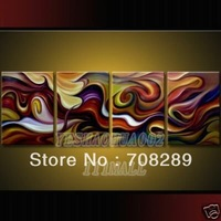 wholesale High quality cheap Large Wall Art Modern abstract oil paintings gifts Oil Painting Beach seascape B47