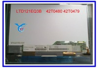 Perfectly 12.1'' laptop LED Screen 42T0480 42T0479 LTD121EQ3B  apply to X200S LED 40% free shipping  wholesale & retail
