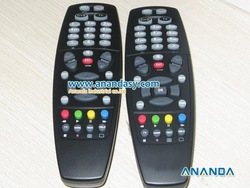 Free Shipping by HK POST FTA Receiver Black Color Remote Control for 800(China (Mainland))