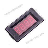 Digital Red LED Current 3 1/2 Panel Meter DC 10A with Shunt