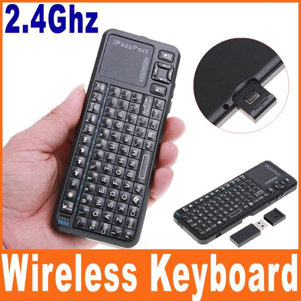 iPazzPort Mini Qwerty Keyboard Support Touchpad And Virtual Laser Pointer Manufacturers selling(China (Mainland))