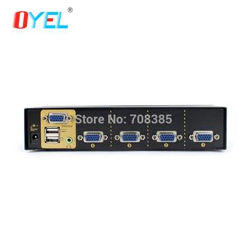 flexible **wholesale & retail** practical  4 port USB KVM switch