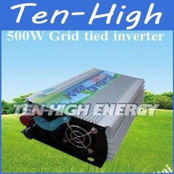 Fedex freeshipping! 500W Grid Tie Inverter for solar panel, Pure sine wave Power Inverter