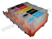 PGI-525/526 10sets /lot refillable Ink cartridges with ARC chip for canon IP4850/MG5150/MG5250/MG6150/MG8150  free shipping