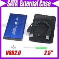 """USB 2.0 2.5"""" SATA HDD HARD DISK DRIVE Enclosure #106"""
