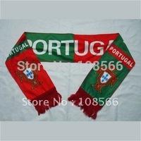Wholesale Portugal scarf/ Fans scarves/  portugal  souvenirs