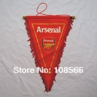 Wholesale Arsenal  red  pennant / football fans appealing