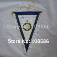 Wholesale Inter Milan  pennant / appealing white football  flag