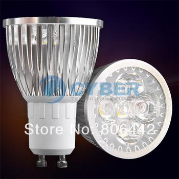GU10 Warm White 5 LED Spotlight 5W 85~265V Spot Light Bulb 980