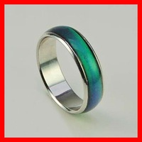 HOT,wholesale mood change color rings mixed size