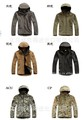 1PCS V 4.0 Men Outdoor Hunting Camping Waterproof Jacket Color:Black/Green/Gray/Khaki/ACU/CP Size:XS - XXL,men's clothes 2013