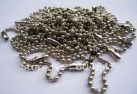 "2.4MM Ball Chains  4"" inch KEYCHAIN Bead Chain 10cm"