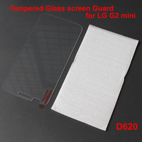 Hot Selling Tempered Glass screen Guard for LG G2 mini D620+Free shipping