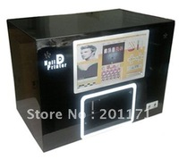 PC Nail printer,nail printing machine,5 finger nails one time,10 inch touch screen(model S07A)