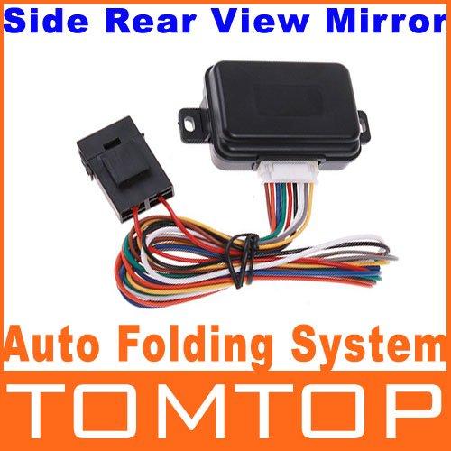 Side view mirror Folding system Intelligent Auto Side Rear View Mirror Folding Closer System rear vision mirror folding system(China (Mainland))