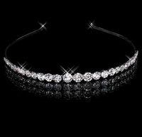 Free Shipping, Bridal Jewelry, Fashion Crystal Headband, Rhinestone Tiara, 2pcs/lot, HA00061