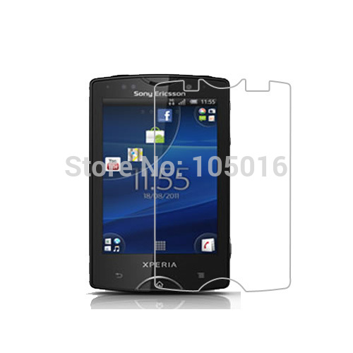 Free shipping 3pcs anti-Scratch & Dust-Proof Crystal for SonyEricsson SK17i (Xperia mini pro) screen protector(China (Mainland))