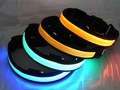 HOT 50pcs LED flashing pet necklace LED light dog collar flashing dog collar LED Dog Necklace