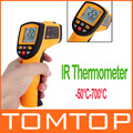 Non-Contact Laser IR Thermometer -50-700degree w/ Alarm &amp; MAX/MIN/AVG/DIF ,freeshipping, dropshipping
