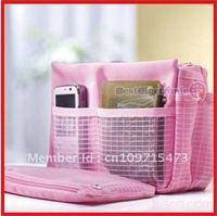 10PCS Free shipping! Makeup MP3 Storage Organizer Multi Bag in Bag Good Quality