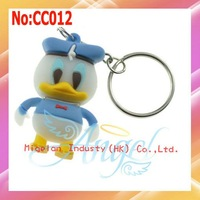 2014 Rushed New Arrival Stock free Shipping Wholesale Donald Duck USB Flash Memory Drive with 1 Year Warranty #cc012