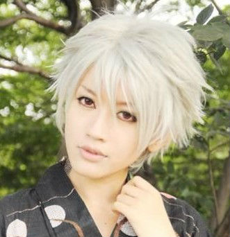 ... Short layer Cosplay Wigs Anime cosplay boy cut wigs(China (Mainland