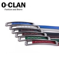 OLDCLAN Free Shipping wholesale + genuine Cow Leather Studded Waist Belt + Designer Fashion Lady Belt  hot gift box FGB0118031