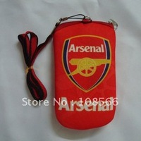 wholesale Arsenal case pouch for mobile phone / mobile phone bag / red cell phone pocket