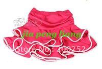 Wholesale Children's dance wear dance clothes Latin Dance Skirt  10 Colors 20pcs Free Shipping