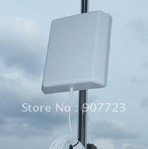 2.4GHz 2.4G WIFI 14dBi ~ 16dBi Directional Panel Antenna RP-SMA 10ft cable router switch(China (Mainland))