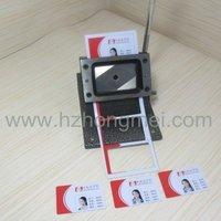 86*54mm size Manual pvc card cutter