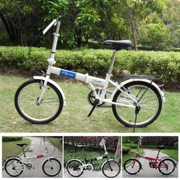 Brand mouse 20 inches streamline folding bike/bicycle,high-carbon steel.Special price.Fast shipping.