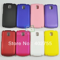 Plastic Rubber Hard Case Cover Skin for LG Optimus One P500 Free Shipping