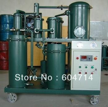 Vacuum lubricant oil separator, oil filtering system