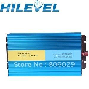 Wholesale 12/24V to 100/110/220/230/240V Off Grid Pure Sine wave Solar Inverter 1500W