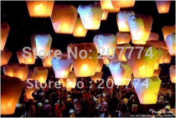 Sky Lanterns Wishing Lantern fire balloon Chinese Kongming lantern for 28PCS/LOT BIRTHDAY WEDDING PARTY gift free shipping