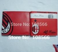 AC Milan  Color Printing PU wallet,AC Milan  wallet