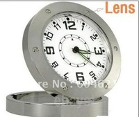 Brand New Clock Motion Detection Camera DVR Record Cam Watch free shipping with retailbox