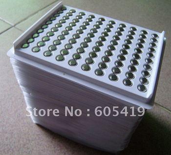 10000pcs/Lot, AG4  LR626 377A RW329  LR66 1.5V alkaline button cell battery (SR626/377 watch battery)