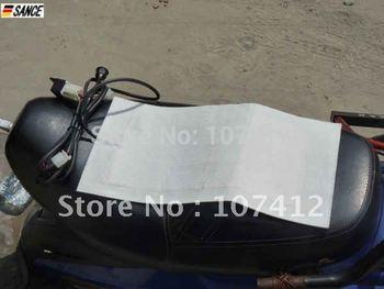 Free Shipping Universal Motorcycle ATV UTV E-BIKE  Carbon Fiber Seat Heater Warmer (SH003)