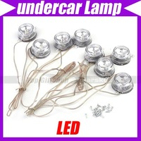 Free shipping/White Light LED Underbody Undercar Auto Decorative Lamp #3018