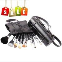Cylinder Brushes 16 pcs/set Makeup Classic Overflow Makeup Brush Sets  Free Shipping