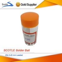 2 bottles/lot SCOTLE 25k 0.45 mm 0.45mm BGA Solder Ball Leaded
