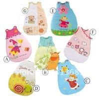 Baby Sleeping Bags sleeping sacks Magic club sleeping bag Infant sleeveless vertbaudet CUTE 20pcs