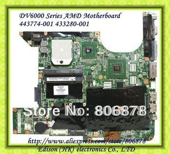 DV6000 AMD  laptop motherboard FOR HP 443774-001  Full test 100% good work
