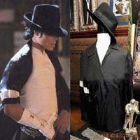 Wholesale commemorative Michael Jackson concert dance hat,good quality fedora hat for adults ,Free Shipping