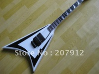 ALEXI LAIHO SIGNATURE White With Black Pinstripe Electric Guitar