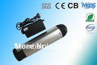 36V/8AH bottle lithium battery for mountain bikes