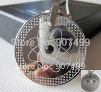 stainless steel scalar energy quantum pendant with germanium stone 20pcs/lot