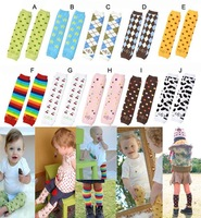 Free shipping Wholesale Colorful Baby Socks / Cotton Baby Leg Warmer / Baby Legging 20 pair/lot #346